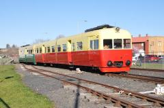 As part of the 2015 Model Train Show, the Tasmanian Transport Museum operated its train rides with t