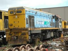 DC4588 shown stored at East Tamar workshops, January 2005