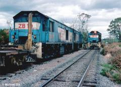 In the days when ZB locos were blue and Powranna was still a crossing loop, the crews of northbound