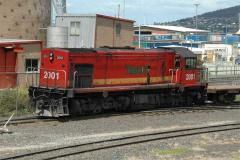 Generally shunting in Hobart is carried out with the cab facing North, although sometimes no suitabl