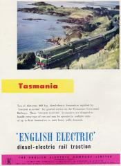 An English Electric advertisement from a 1956 trade publication