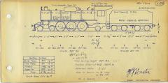 TGR outline diagram for MA class locos (L26)