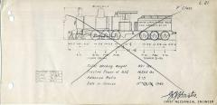 TGR outline diagram for F class locos (L21)