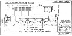 EBR outline diagram for loco 21