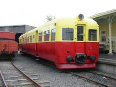 Railcar DP26 at the museum, March 2003