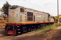 Two MKA locomotives were used occasionally on the BHP lines in South Australia for a period in the l