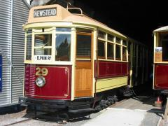 Launceston tram No. 29, March 2003