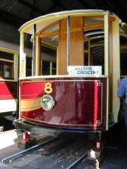 Launceston tram No. 8, March 2003