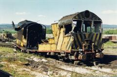 The end of the line for X32. Launceston workshops, October 1988