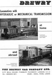 A 1964 trade advertisement showing two of the operators of this style of loco