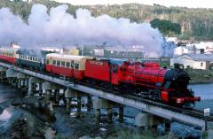 In  May 1986, MA2 headed the first steam-hauled, main line passenger train in 10 years. The train fr