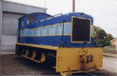 No.22 on display at the open day celebrating the centenary of the Emu Bay Railway, October 1997
