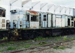 Whilst some stored locos had plated up cabs and secured engine bays, by October 1996 (just a few mon