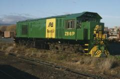 After the first two repaints the grey painted roof was replaced by green, with ZB6 being the first o