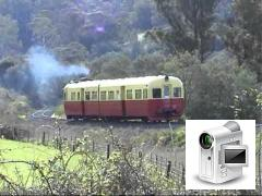 On 26 April 2003, Tasmanian Transport Museum ran a tour using their railcar DP26 to visit Boyer, Cam