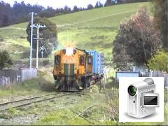 On 24 October 2002, train 54 from Launceston to Tonganah was seen at Bacala and Lebrinna in the nort