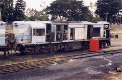 After spending the last four years languishing around Launceston workshops, what remained of Queensl