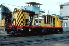Y5 undergoes a heavy overhaul in October 1981. The motor, generator and other majors components have