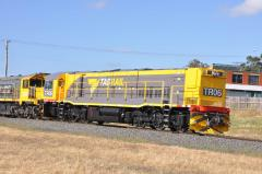 In early February 2014, loco TR06 made a short publicity tour with public displays at Burnie, Wester